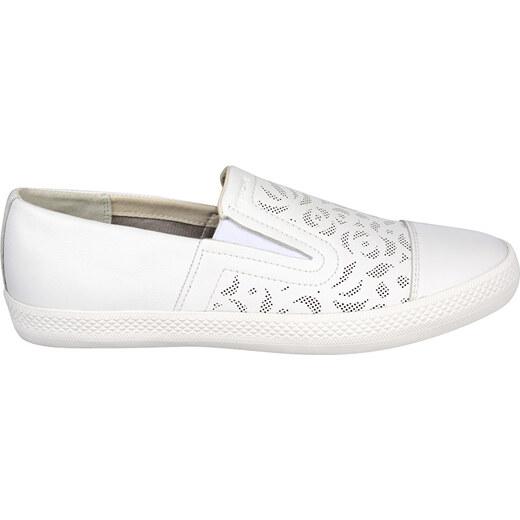 f8b2a15b34f GEOX Dámské Slip-on Giyo B White D829FB-00085-C1000 - Glami.cz