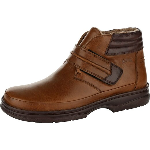 Čižmičky Softwalk hnedá-kombi - Glami.sk 90015dc384d