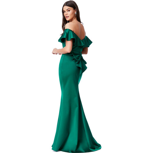 7e58e7b55b Goddiva Zöld ruha Virginie - Glami.hu