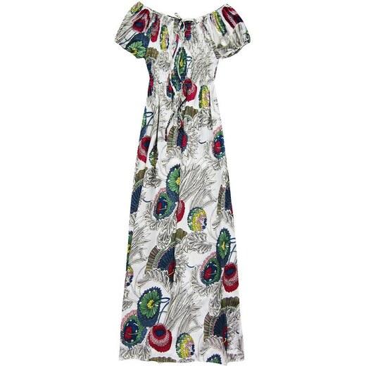 24c5a5682508 Red Queen Letné maxi šaty biele 71027 - Glami.sk