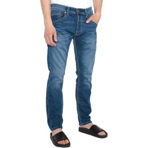 Férfi Pepe Jeans Track Farmernadrág Kék - Glami.hu 05d7c3b66c