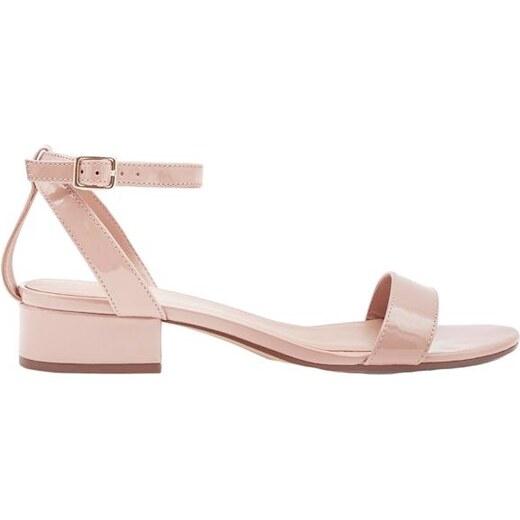 4550b81a1f7e NEW LOOK Telové sandále na nízkom podpätku - Glami.sk