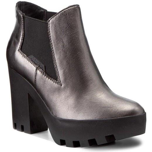 8404a31f12 Členková obuv CALVIN KLEIN JEANS - Sandy R0589 Anthracite - Glami.sk