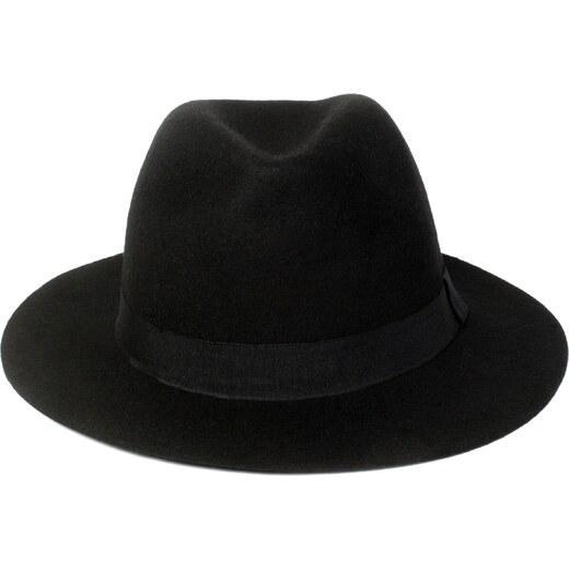 Černý vlněný klobouk SIX - Glami.cz 6fb0d60c31