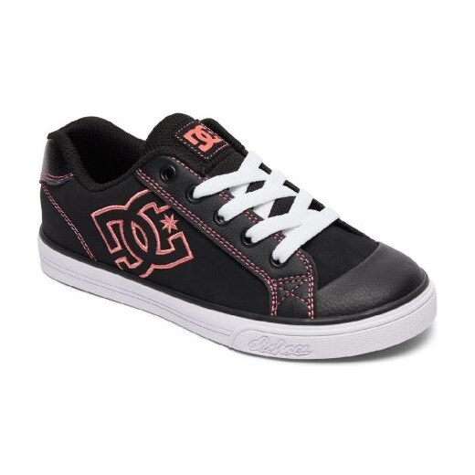 DC Shoes Boty DC Chelsea black pink - Glami.cz fba37aa358