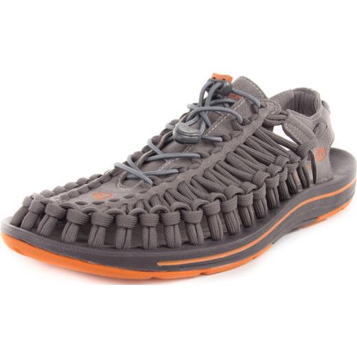 Sandály pánské KEEN UNEEK FLAT M gargoyle burnt orange - Glami.cz 86e2376cce