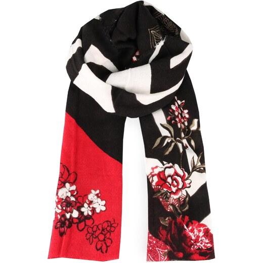 Desigual Dámský obdélníkový šátek Foulard Extraordinary 17WAWK21-3007 -  Glami.cz 86aa947cce6