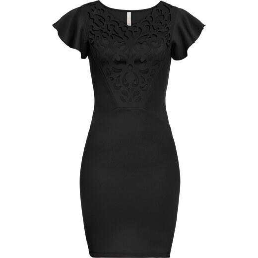 BODYFLIRT boutique Bonprix - robe d été Robe noir mancherons pour femme -  Glami.fr 90520b6ec0d9