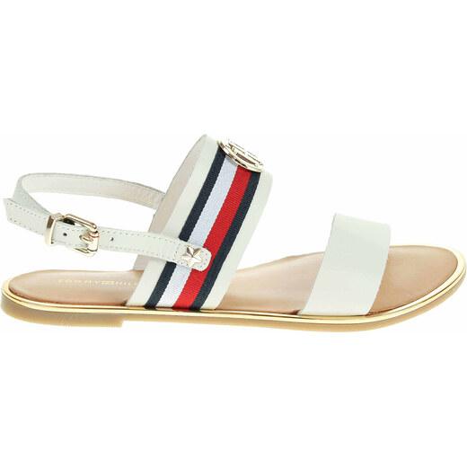 05cbfca30bc27 Dámské sandály Tommy Hilfiger FW0FW02811 whisper white FW0FW02811 121 -  Glami.sk