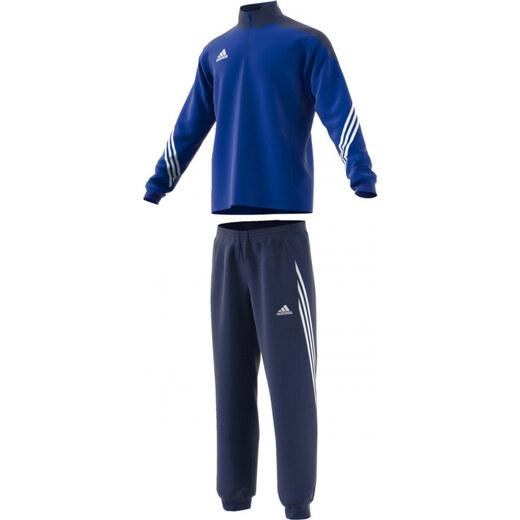 Pánska súprava adidas Performance SERE14 PRE SUIT (Tmavo modrá   Biela) -  Glami.sk d5486ea0fec