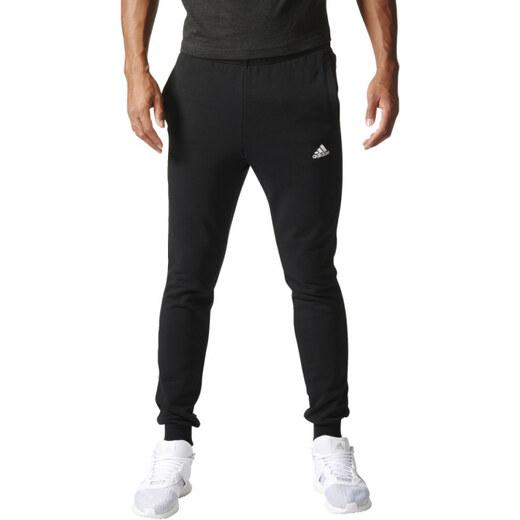 Pánske tepláky adidas Performance ESSENTIALS S PNT FT (Čierna   Biela) -  Glami.sk c515e52c3b5