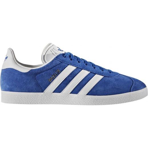 cc0e3a29227 Pánske tenisky adidas Originals GAZELLE (Tmavo modrá   Biela   Zlatá) -  Glami.sk