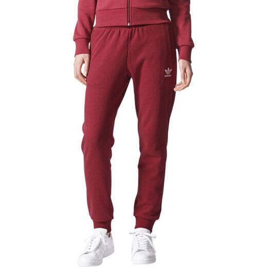 Dámské tepláky adidas Originals REG CUFF TP (Tmavě červená)