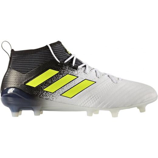 Pánske kopačky lisovky adidas Performance ACE 17.1 FG (Biela   Žltá   Čierna)  - Glami.sk adcd713ac43