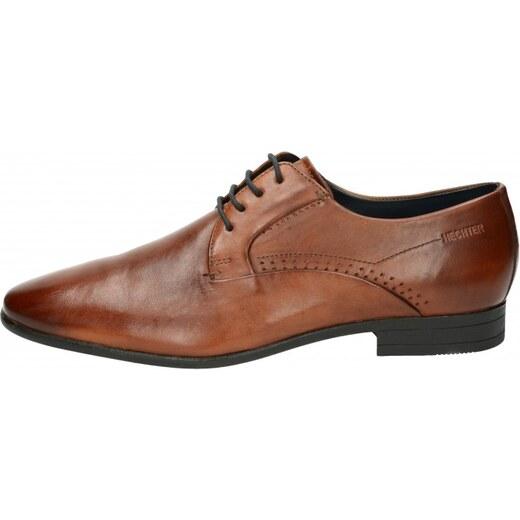4b7da93344fd Daniel Hechter pánske spoločenské topánky - hnedé - Glami.sk
