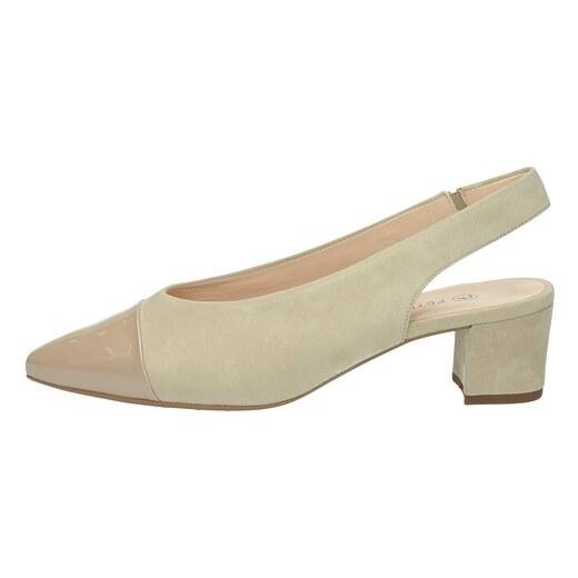 500fad6aa8b6 Peter Kaiser dámske pohodlné sandále - béžové - Glami.sk