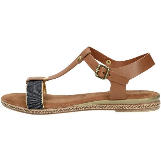 53b8c2d745 Tamaris dámske sandále - hnedé - Glami.sk