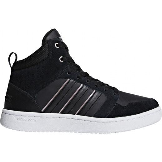 d8ced56a5e3 Dámské kotníkové boty adidas Performance CF SUPERHOOPS MID W (Černá) -  Glami.cz