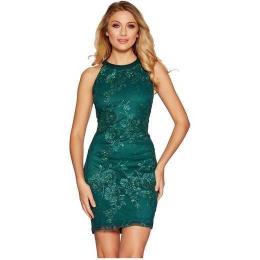 abf71142296c QUIZ Mini šaty zdobené flitrami - Glami.sk