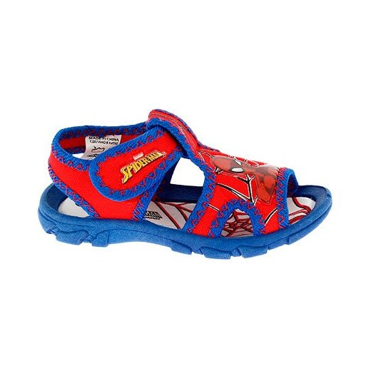 Disney by Arnetta Chlapecké sandály Spiderman - červeno-modré - Glami.cz 5488bd5560