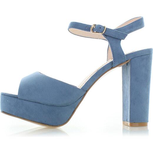 8d2528846f9d Vices Modré sandále Lilian - Glami.sk