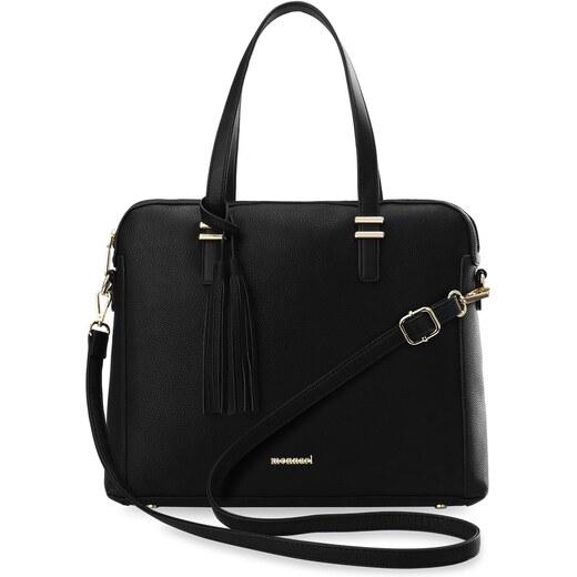4dd2d3860af Monnari dámská kabelka aktovka taška na notebook - černá - Glami.cz