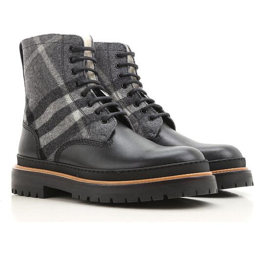 44698e7814f Burberry Vysoké boty pro muže Ve výprodeji
