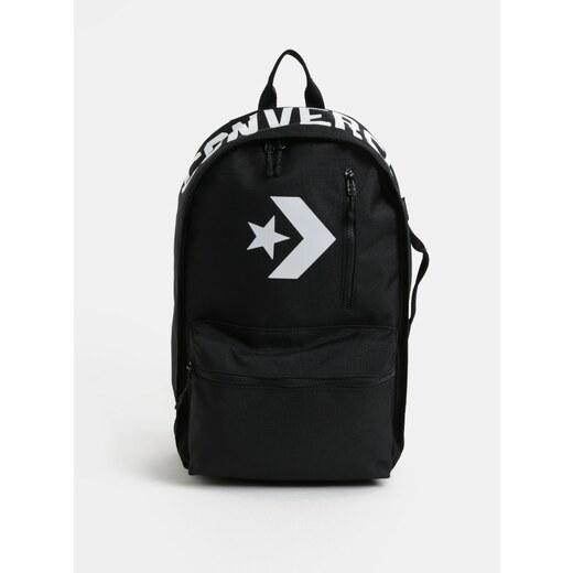 Černý voděodolný batoh s potiskem Converse Street 22 Backpack - Glami.cz 2ccd98efb4