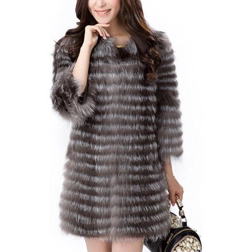 Kožešinový kabátek z lišky - S až 3XL - pravá kožešina - přírodní - Glami.cz c9d7ac7776
