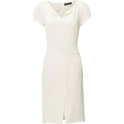 Biele púzdrové šaty PATRIZIA DINI - Glami.sk b62d2286b54