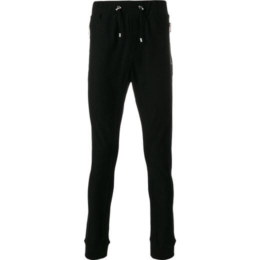 3aafa18386e Balmain skinny track pants - Black - Glami.cz