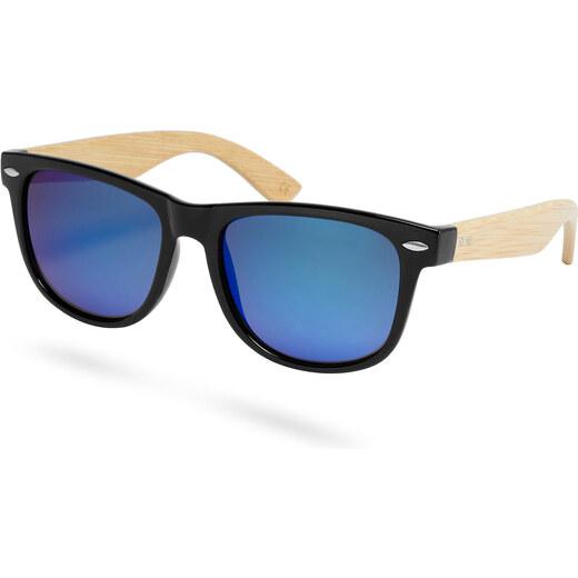 Paul Riley Ľadovo modré slnečné okuliare z bambusového dreva - Glami.sk 5eb9714f70c