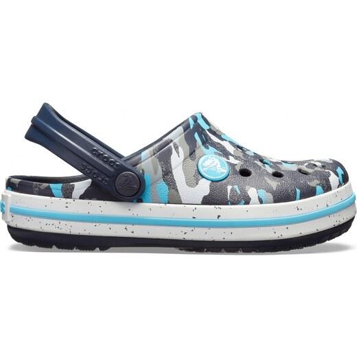 6d172691f17 Crocs Crocband Camo Spec Clog Kids - Blue Camo - Glami.cz