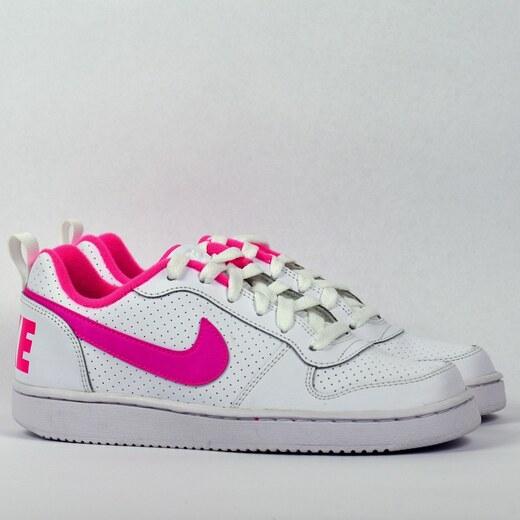 promo code 16bb4 50fde Nike COURT BOROUGH LOW (GS) Dámské boty 845104-100 - Glami.cz