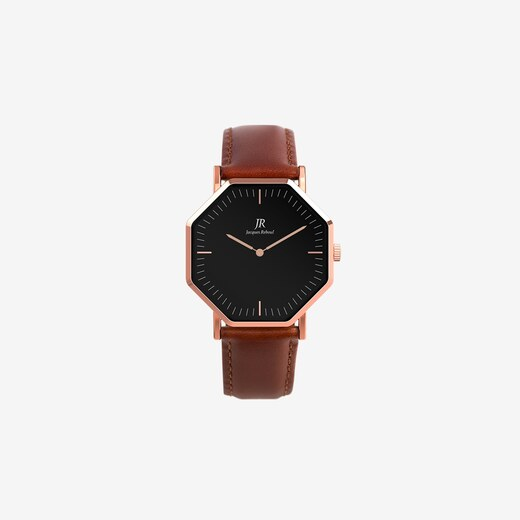Jacques Reboul Watches Lumiere Classic Rose Gold Hexagonal Watch with Brown  Leather Strap 36mm - Glami.cz c9d07ce51e