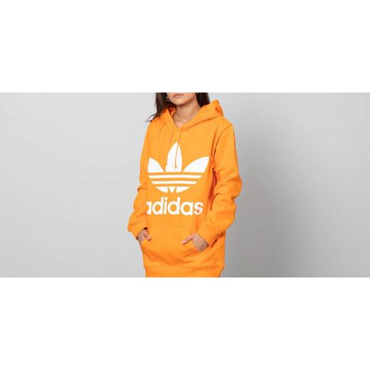 adidas Originals adidas Boyfriend Trefoil Hoodie Bahia Orange - Glami.sk 02a74e5fdcb