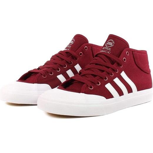 e8ba47a1a1e Pánské boty adidas Originals Matchcourt Collegiate Burgundové - Glami.cz