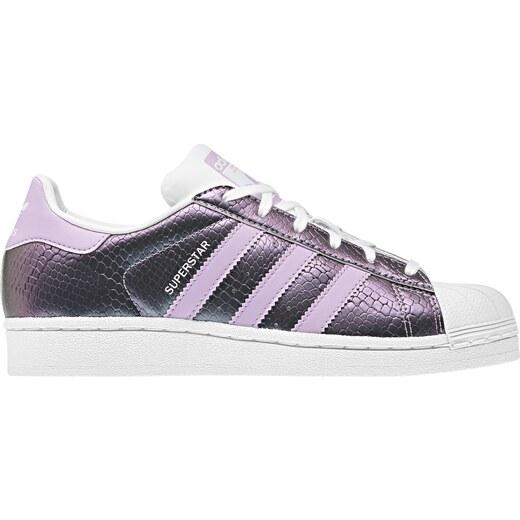 9334f6b5cdf8 adidas Superstar J fialová 35