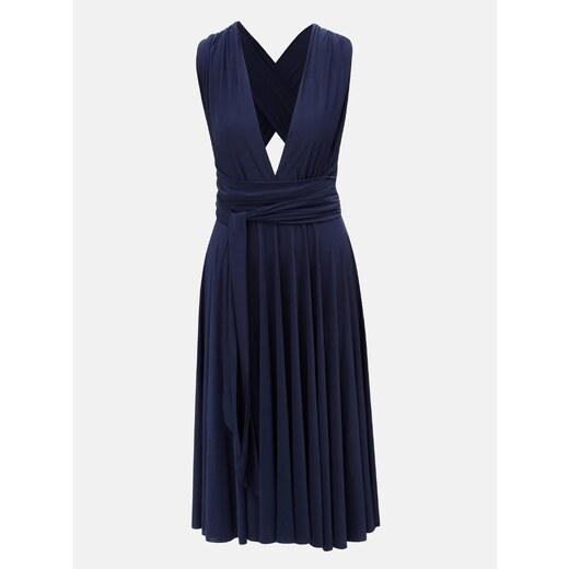 152a637c0e19 Tmavomodré variabilné šaty sukňa ZOOT - Glami.sk