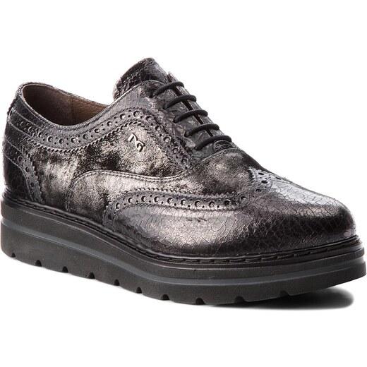 820f1cc25e Oxford cipők NERO GIARDINI - A806371D Grigio 032 - Glami.hu
