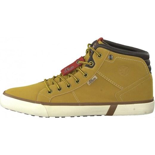 s.Oliver pánská kotníčková obuv 43 žlutá - Glami.cz 3655b180da