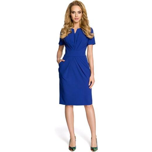 785bbafb5ea9 Kráľovské modré šaty Moe 234 - Glami.sk