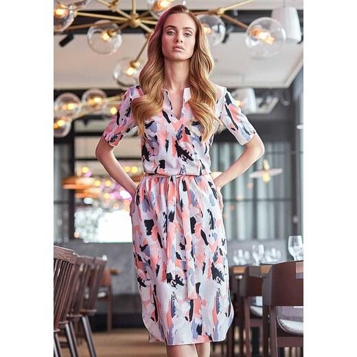 Vzorované šaty Style 114 - Glami.sk 425a1702b6e