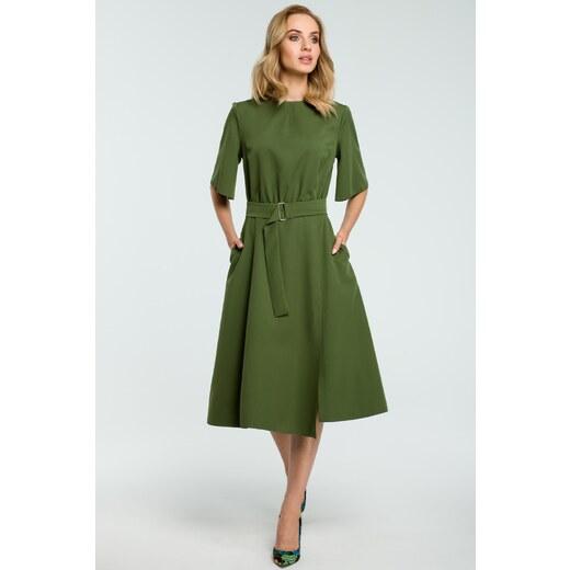 4837046209c3 Zelené šaty Moe 396 - Glami.sk