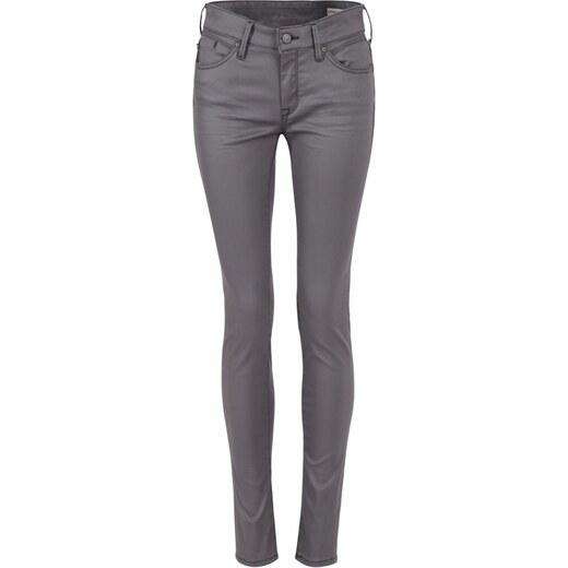 MAVI Mavi jeans dámské slim džíny ADRIANA grey jeather df3feabbd4