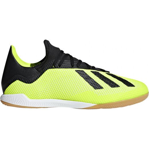 1e7e18a209f Pánské sálové kopačky adidas Performance X TANGO 18.3 IN (Žlutá   Černá    Bílá) - Glami.cz