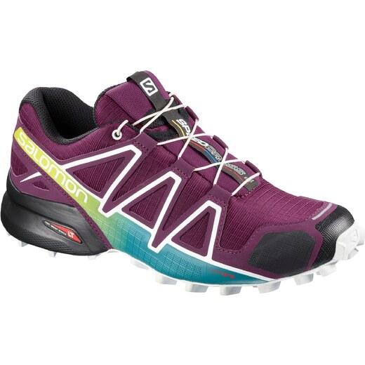 Trailové boty Salomon SPEEDCROSS 4 W Darkpurpl Wh Deep La L40136100 -  Glami.cz 5bdffecd24