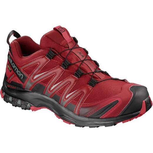 87b36839435 Trailové boty Salomon XA PRO 3D GTX Rd Dahlia Bk Barbado L40472200 -  Glami.cz