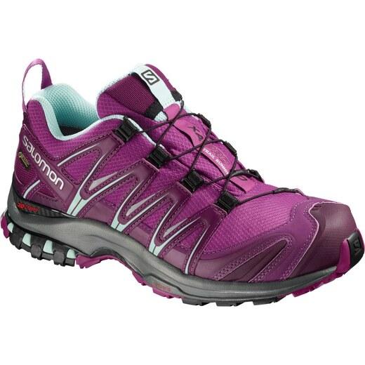 Trailové boty Salomon XA PRO 3D GTX W Hollyhock Darkpurp l40472300 -  Glami.cz 12078731ed