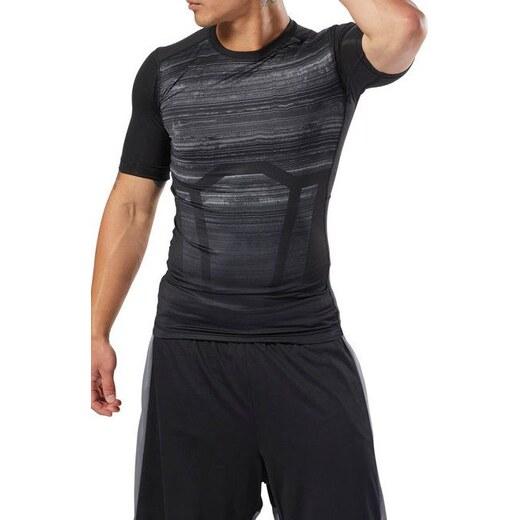 Kompresné tričko Reebok AC Comp Tee - AOP CY4891 - Glami.sk de4427ba7c7